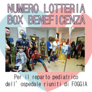 BOX BENEFICENZA